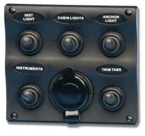 Водоустойчив електрически панел LED
