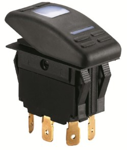 Електрически ключ LED - единичен