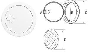 Монтажен капак - UV устойчив