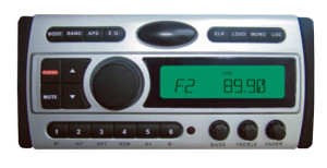 Водоустойчива радио система - MP3/DVD/CD/VCD/MP4