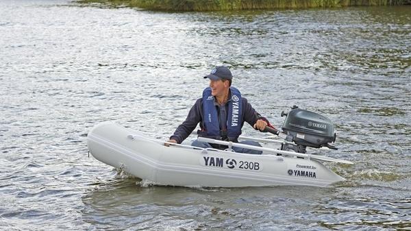 Надуваеми лодки YAMAHA YAM230B
