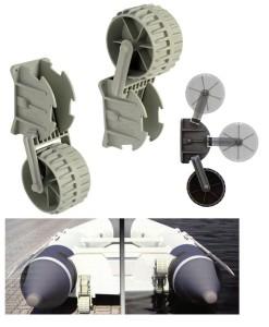 Транцеви колела - пластмасови