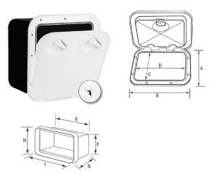 Шкаф за съхранение TOP LINE - UV устойчив