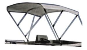 Тента за лодка - алуминии - трираменна