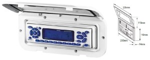 Водоустойчива кутия за радио