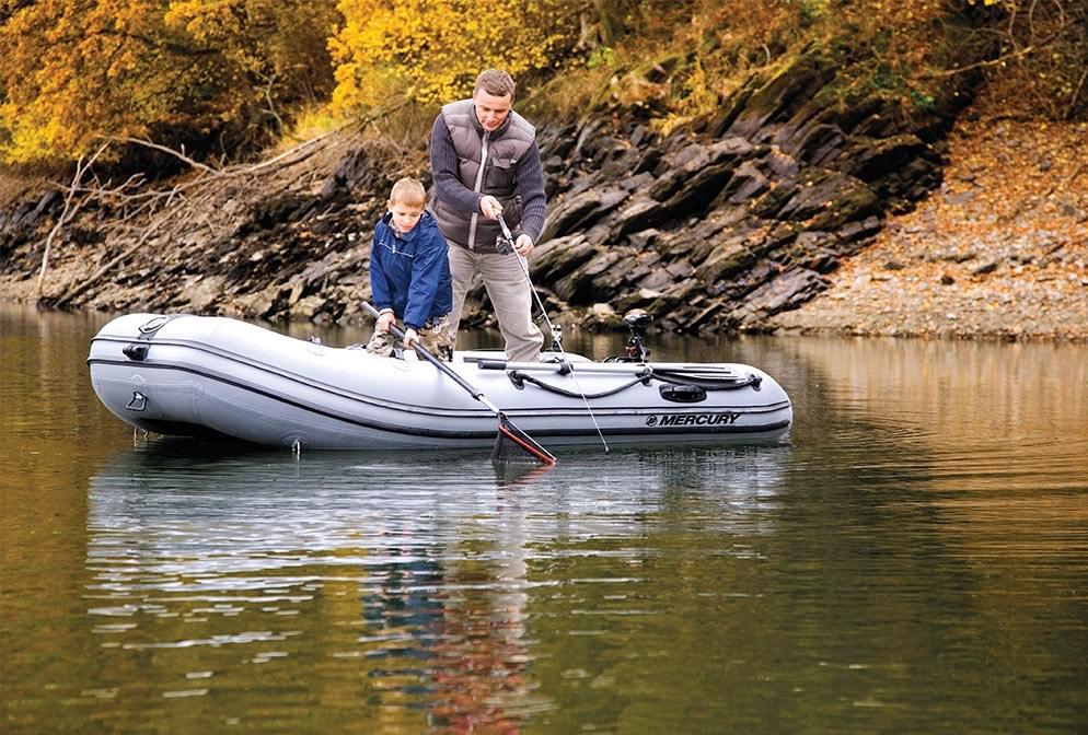 Надуваеми лодки Mercury Air Deck Fishing 320