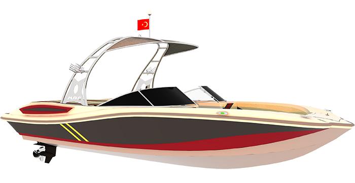 Моторна яхта Mercan Butterfly 24