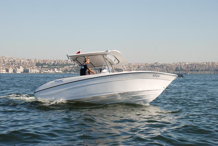 Моторна яхта Mercan Fisher 21