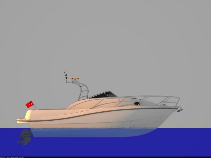 Моторна яхта Goby 280 Sport