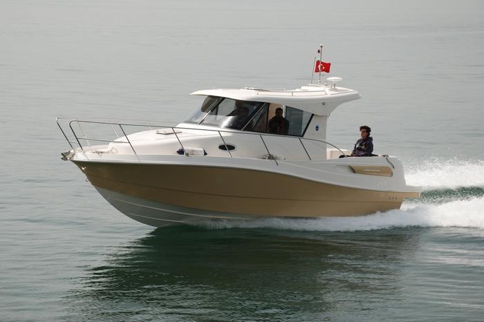 Моторна яхта Mercan Goby 280