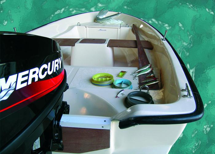 Моторна лодка Mercan 13