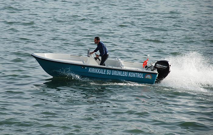 Моторна лодка Mercan 15