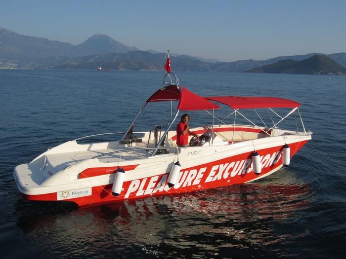 Моторна лодка Mercan Parasailing 34