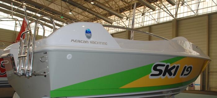 Моторна лодка Mercan Ski 19