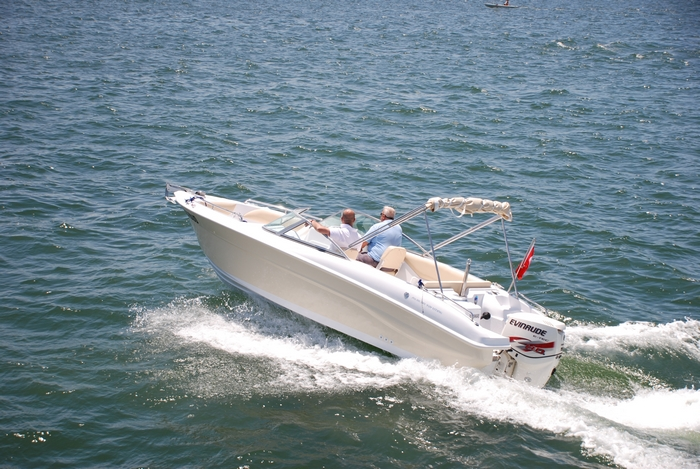 Моторна лодка Mercan Ski 21 OB