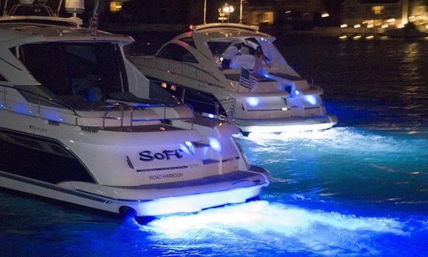 Подводни светлини за лодка