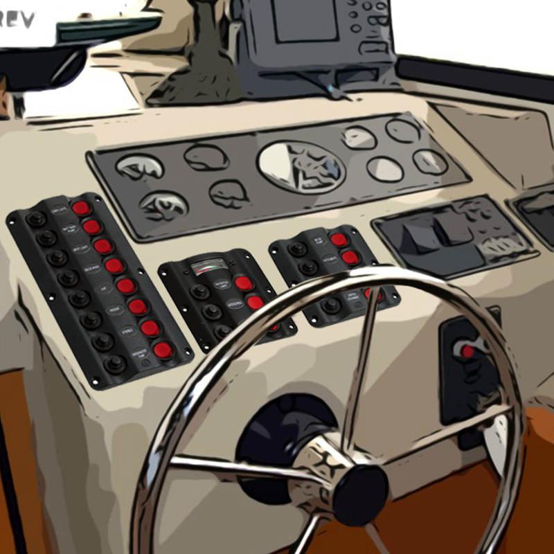 Електрически панели за лодка