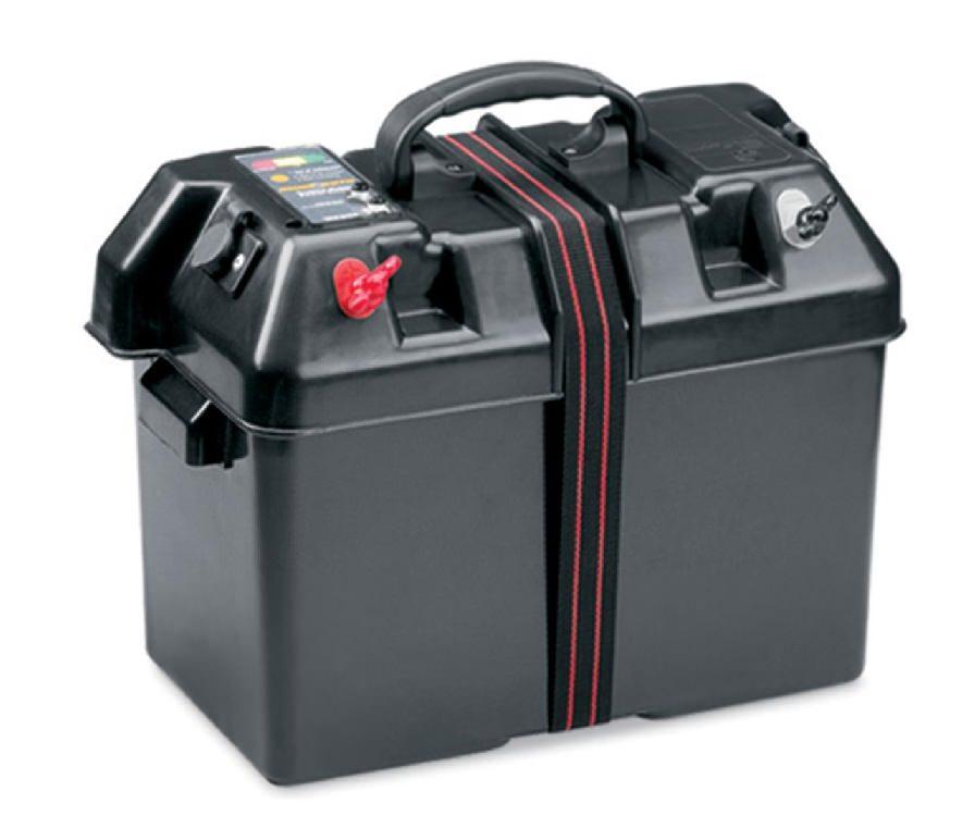 Кутия за акумулатор с букса 12V