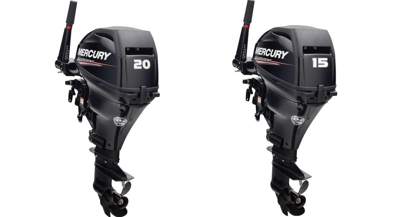 Извънбордови двигатели Mercury F15 / F20