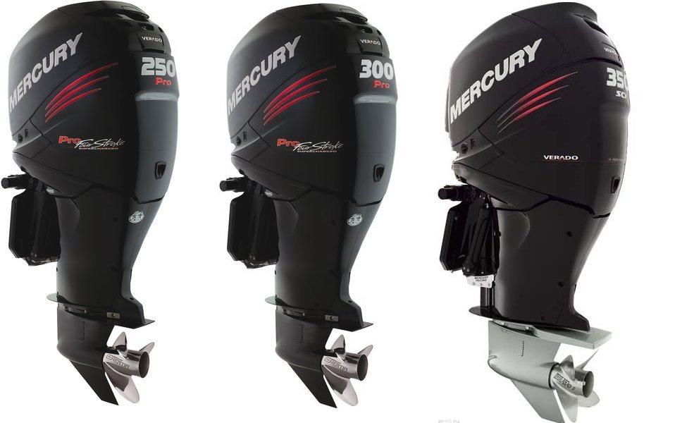 Извънбордови двигатели Mercury Verado 250-350