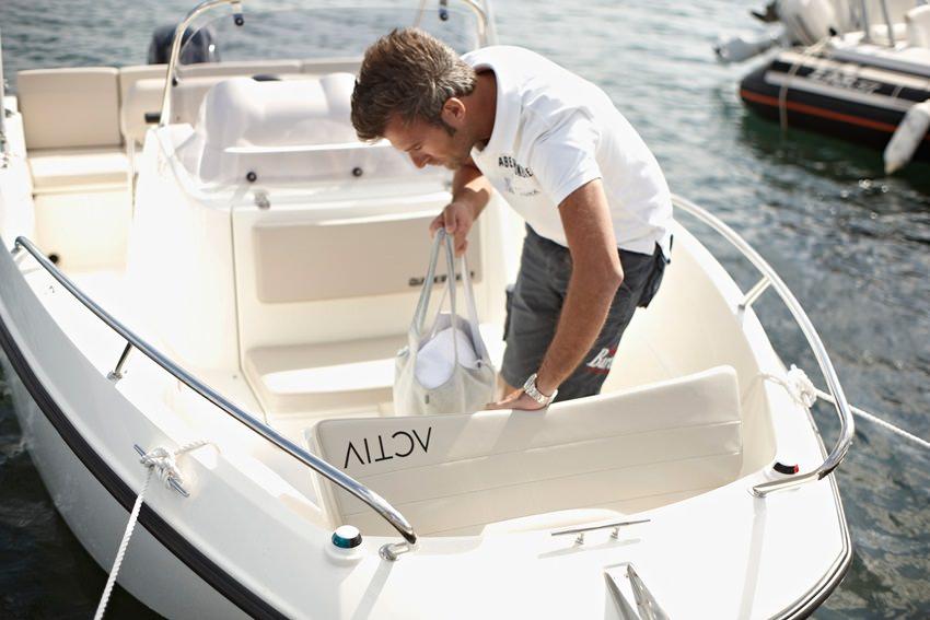 Моторна пластмасова лодка Quicksilver ACTIV 505 OPEN