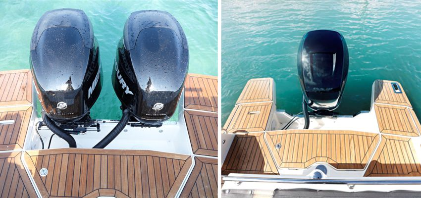 Моторна яхта Quicksilver 805 Sundeck