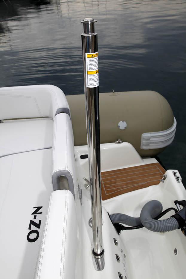 Надуваеми пластмасови лодки РИБ Зодиак/ RIB Zodiac N-zo 700 Cabin