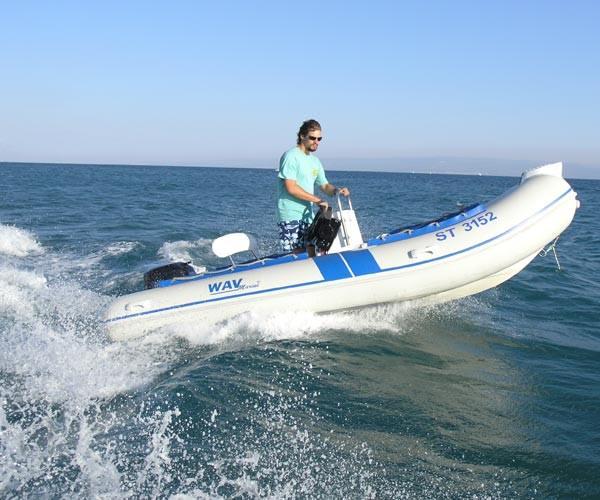 Надуваеми лодки Tiger Marine Divemaster 420