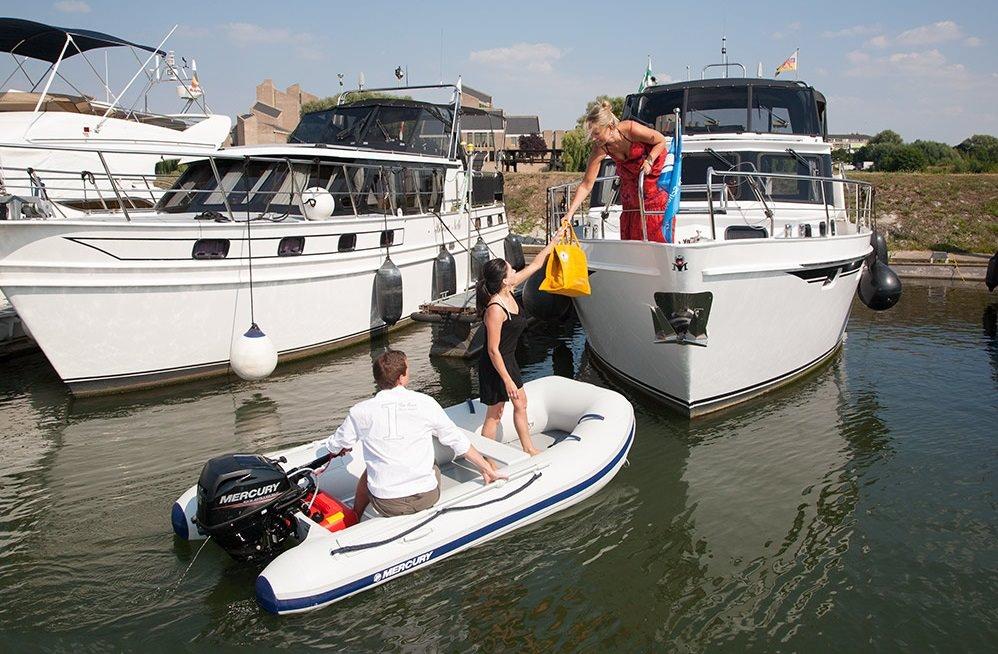 Надуваеми лодки Mercury Air Deck Deluxe 320