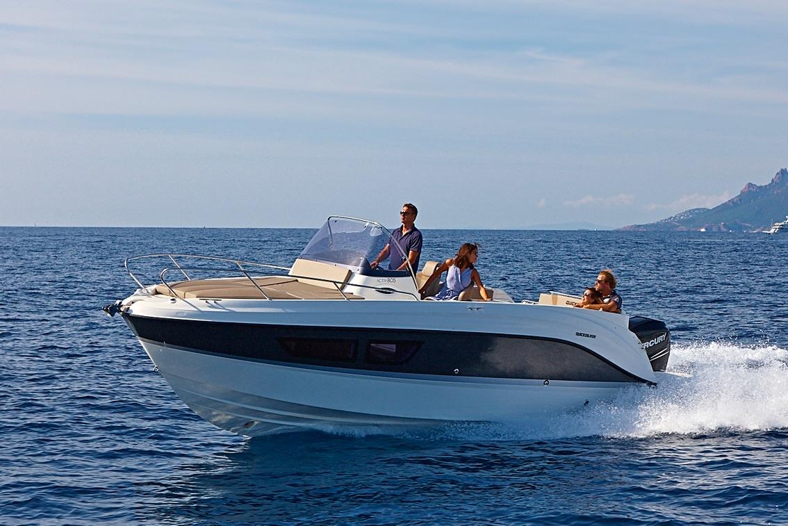 Лодка Quicksilver Activ 805 SUNDECK