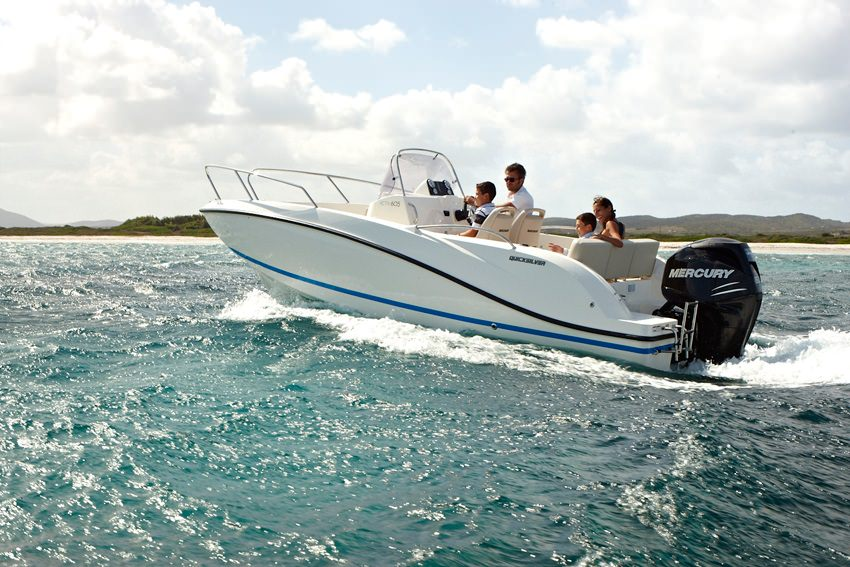 Моторна лодка Quicksilver ACTIV 605 OPEN