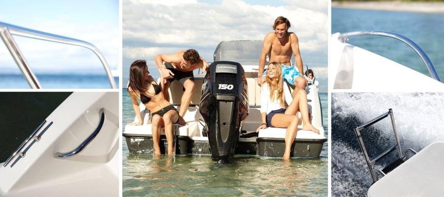 Моторна яхта Quicksilver Activ 675 OPEN