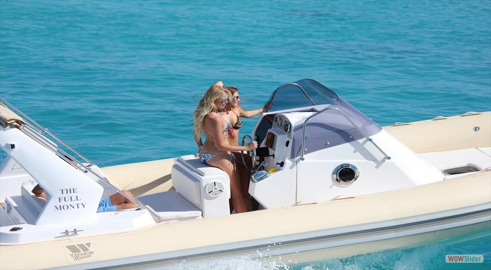 Надуваеми лодки Tiger Marine Topline 850
