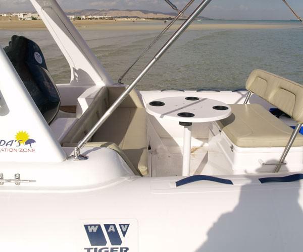 Надуваеми лодки Tiger Marine Topline допълнително оборудване
